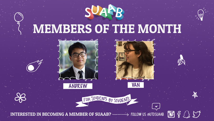SUAAB Member of the Month - January